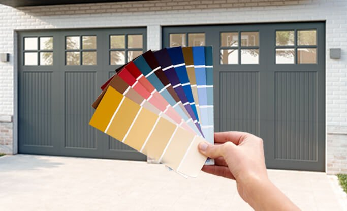 Timberlane offers custom color and finishes matching capabilities for our garage doors
