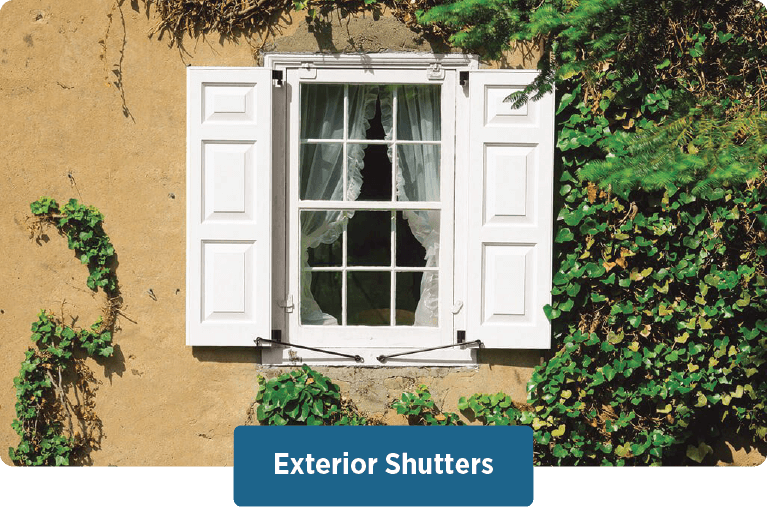 design your Timberlane custom exterior shutters by using our easy to use request a quote online tool