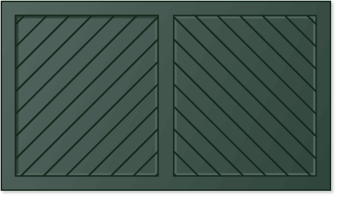 image of a herringbone panel design for Timberlane's trifold